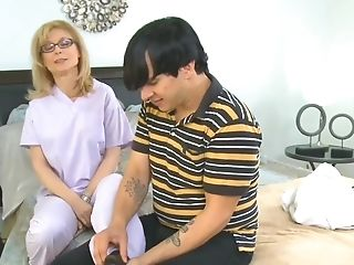 Hd, Massage, Milf, Nina Hartley, Kousen, Jong,