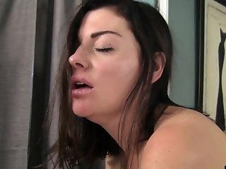 лифчик , Brooke Lynn, пальцем, трахает, лесбийское, лижет, натуральные сиськи, нейлон, чулки, стринги,