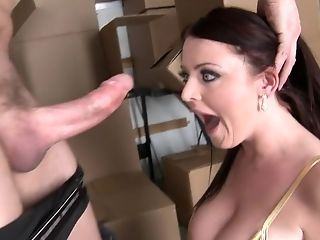 Anal Sex, Ass, Big Ass, Big Tits, British, Brunette, HD, Sophie Dee,