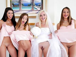 Bride, Cheating, Group Sex, Party, Reality, Teen,