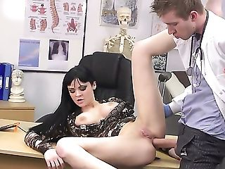 Anal Sex, Anastasia Brill, Ass, Ass Fucking, Ass To Mouth, Big Natural Tits, Big Nipples, Big Tits, Brunette, Clamp,