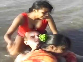 Beach, Indian, Orgy, Outdoor,