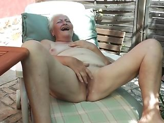 Amateur, Blonde, Granny, Jerking, Mature,