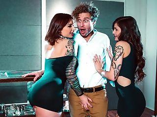 Amazing, Big Tits, Brunette, Fantasy, Femdom, Reality, Tattoo,