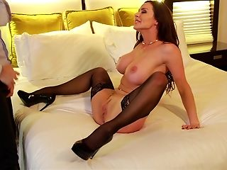 American, Beauty, Bedroom, Big Tits, Brunette, Fantasy, Gorgeous, Hotel, Kendra Lust, Lingerie,
