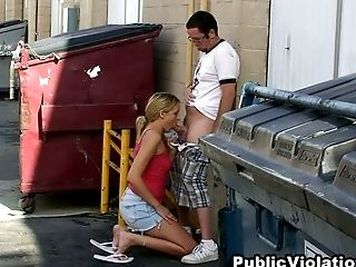 Amazing, Blonde, Blowjob, Dick, Felching, Hidden Cam, Outdoor, Stranger,