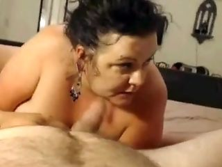 Amateur, BBW, Big Tits, Blowjob, Horny, POV,