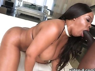 Aryana Adin, Ass, Big Ass, Big Cock, Big Tits, Black, Cum, Cum Swallowing, Cumshot, Hardcore,
