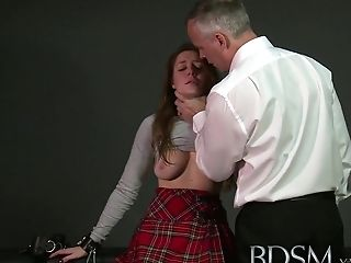 Anal Sex, BDSM, British, Cage, Fetish, Hardcore, HD, Punishment, Rough, Submissive,