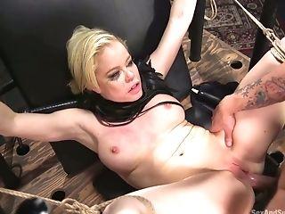 Anal Sex, Ass, BDSM, Blonde, Blowjob, Bold, Bondage, Boots, Cumshot, Deepthroat,