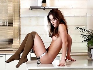 Babe, Female Friendly, Fondling, Masturbation, Petite, Pussy, Romantic, Rubbing, Skinny, Solo,