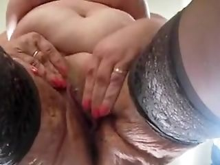 Amateur, BBW, Close-up, Masturbatie, Seksspeeltjes, Kousen,