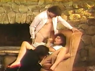 Alle Löcher, Große Titten, Blowjob, Brünette, Christy Canyon, Cumshot, Doggystyle, Fingern, Gangbang, Behaart,