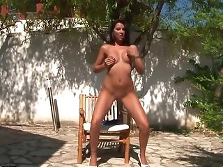 Anal Sex, Big Ass, Brunette, Cindy Hope, Exhibitionist, Fingering, HD, Masturbation, Natural Tits, Solo,