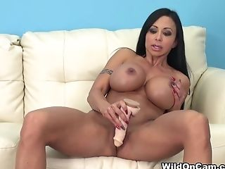 Big Tits, Fake Tits, Jewels Jade, Latina, Masturbation, MILF, Pornstar,
