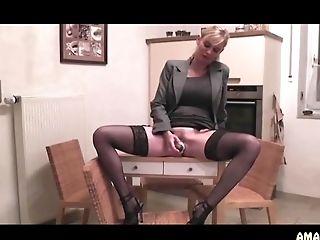 Amateur, Blonde, German, HD, Masturbation, MILF,