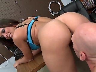 Anal Sex, Big Tits, Brunette, Condom, Dildo, Fucking, Hardcore, HD, Latina, Rachel Starr,