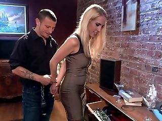 BDSM, Blonde, Bondage, Bound, Cumshot, Cute, Deepthroat, Facial, Girlfriend, Homemade,