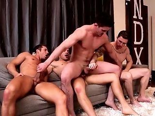 Anal Sex, Bareback, Big Ass, Big Cock, Black, Blowjob, Brunette, Caucasian, College, Deepthroat,