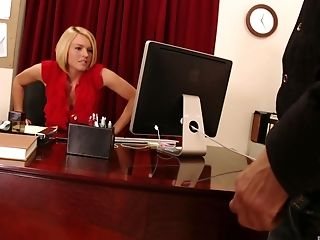Big Cock, Big Tits, Blonde, Boss, Bra, Couch, Desk, Dick, Fake Tits, Hardcore,