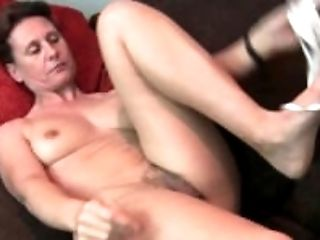 Boots, Clit, Cunt, Fondling, GILF, Granny, Hairy, HD, Housewife, Masturbation,