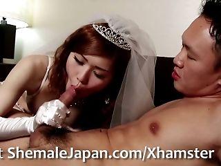 Big Cock, Blowjob, Bride, Fantasy, Guy Fucks Shemale, Hardcore, HD, Ladyboy, Shemale, Shemale Fucks Guy,