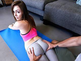 Amazing, Ass, Brunette, Cute, Fitness, Gorgeous, Panties, Pantyhose, POV, Skinny,