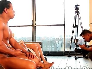 Behind The Scenes, Casting, Group Sex, HD, Muscular,