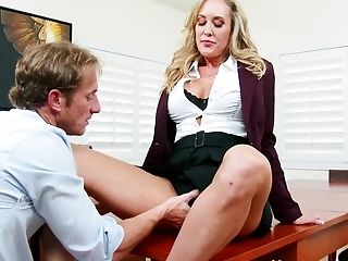 Big Ass, Big Tits, Blonde, Blowjob, Brandi Love, Cunnilingus, HD, Mature, MILF, Naughty,