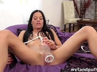 Brunette, Masturbation, Panties,