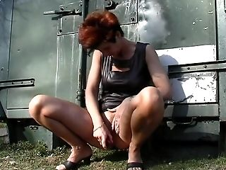 Amateur, Dutch, Granny, Masturbation, Mature, Short Haired,