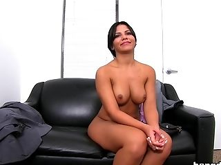 Audition, Big Ass, Casting, Facial, HD, Latina, MILF,