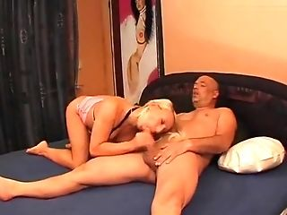 Amateur, Blonde, European, German, Gina Blonde, MILF, Threesome,