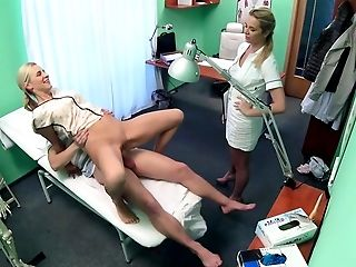 Amateur, Clinic, Doctor, FFM, Group Sex, Hospital, Reality, Threesome, White,