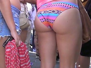 Amateur, Bikini, Blonde, Hidden Cam, Kinky, Outdoor, Voyeur,