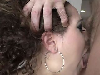Beauty, Blowjob, Brunette, Curly, Cute, Deepthroat, Horny, Slut,