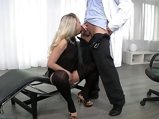 Sexe Anal, Bimbo, Barra Brass, Blonde, Pipe, Horny, Star Du Porno, Collants ,