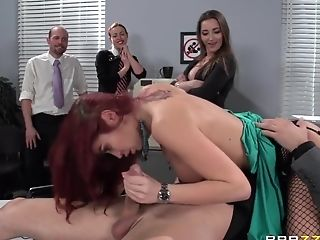 Anal Sex, Big Tits, Facial, Hardcore, HD, Mistress, Monique Alexander, Office, POV, Street,